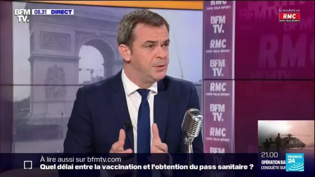 """2021-07-13 12:31 Covid-19 en France : """"Cela ne fait pas sens de refermer le pays pour tout le monde"""""""