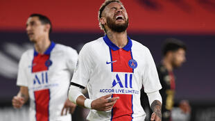 Neymar scored but PSG were held to a damaging draw by Rennes on Sunday