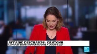 2020-02-28 15:10 Affaire Deschamps - Cantona : le procès en diffamation est reporté à 2021