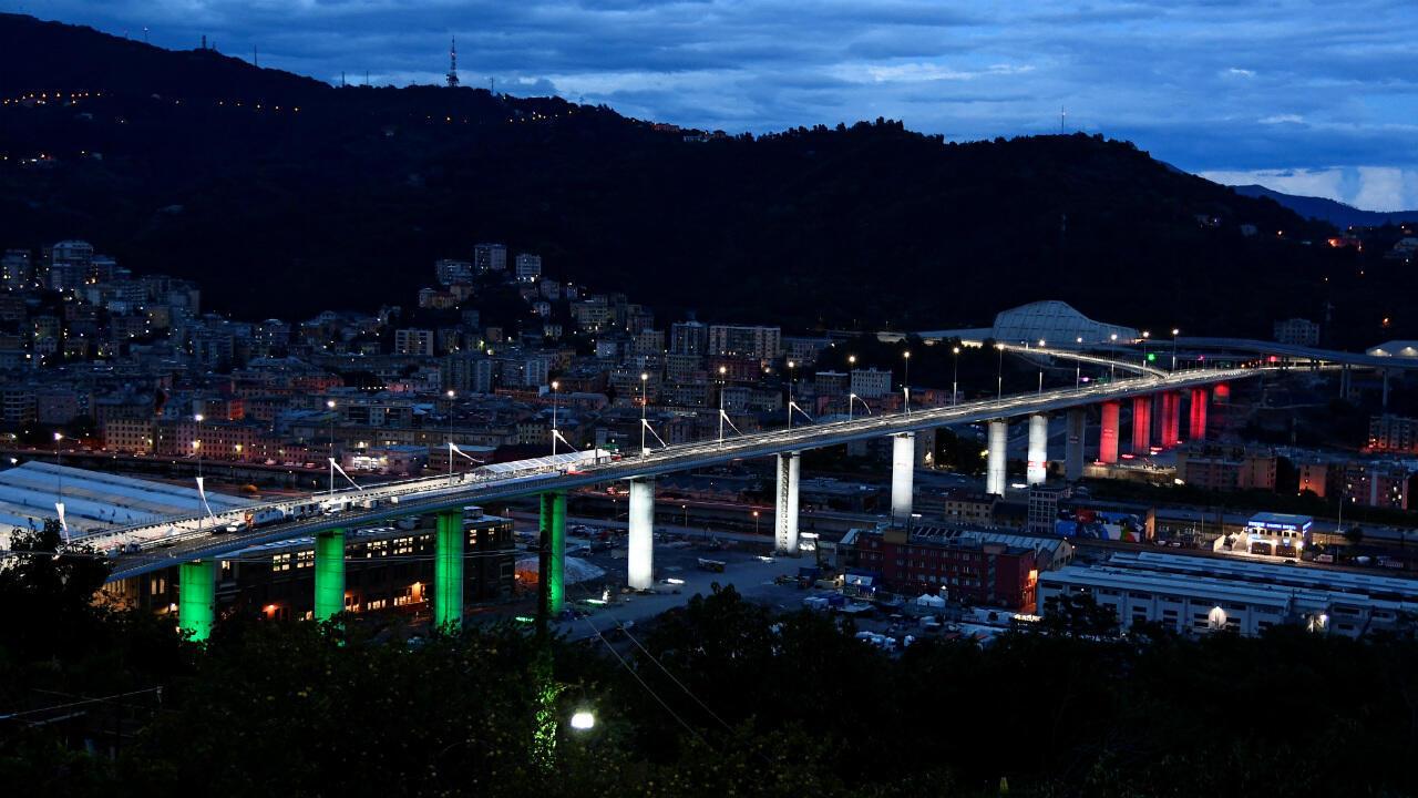 Genoa bridge Renzo Piano
