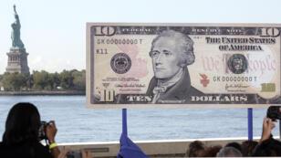 Une femme viendra remplacer Alexandre Hamilton sur les billets de 10 dollars à partir de 2020.