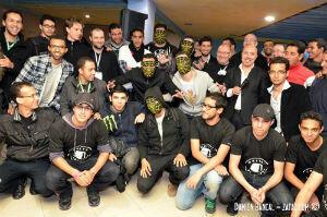 Photo de famille du Hacknowledge du Maroc