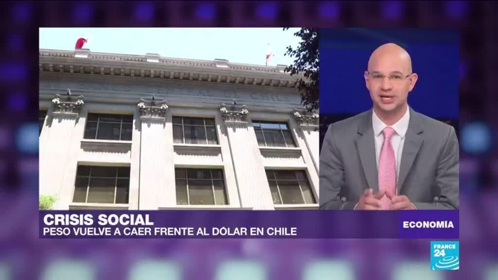 Caída del peso chileno genera preocupación entre los inversores