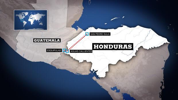 """Recorrido de la """"Caminata de migrantes"""" hasta el 16 de octubre"""