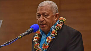 Le Premier ministre des Fidji et président de la COP23, Frank Bainimarama.