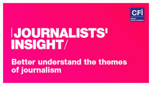 JOURNALISTS' INSIGHT