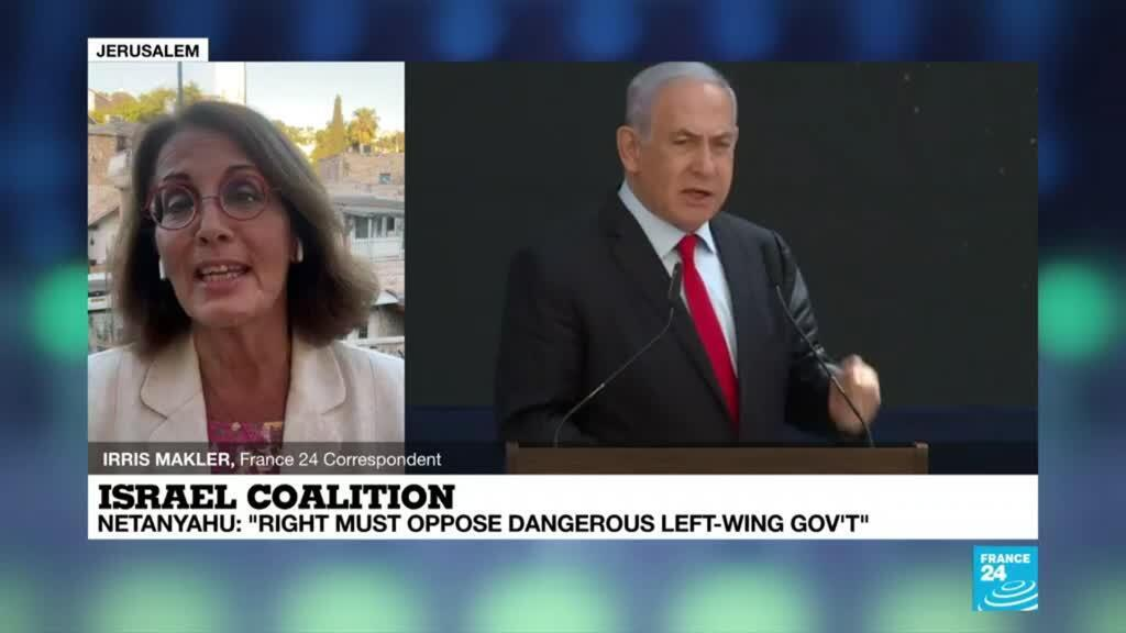 2021-06-03 18:04 Netanyahu pushes back against Lapid-Bennett-Abbas deal