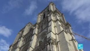 2021-04-15 13:35 Segundo aniversario del incendio de Notre-Dame: así avanza su reconstrucción
