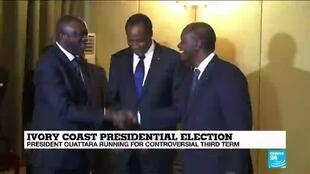 2020-10-27 13:14 Ivory Coast votes: a popular president turned controversial contender