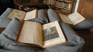 """Le """"Premier Folio"""" retrouvé à la Mount Stuart House, sur l'île écossaise de Bute."""