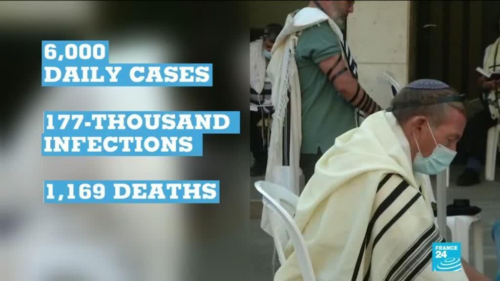 2020-09-18 17:03 Coronavirus pandemic: Israel returns to virus lockdown as cases mount