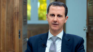 Le président syrien Bachar al-Assad a donné une interview exclusive à l'AFP mercredi 12 avril.