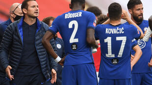 Chelsea manager Frank Lampard wants the Blues back competing for league titles