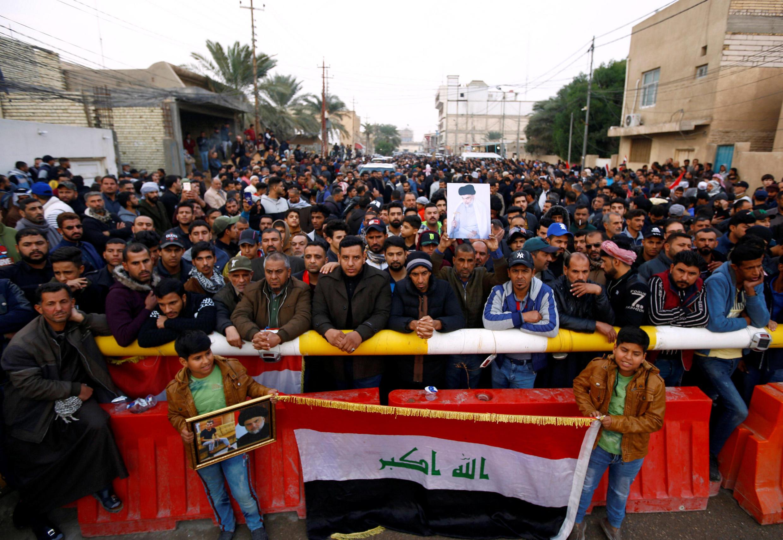 Manifestation en Irak après une nuit de violences, vendredi 6 décembre
