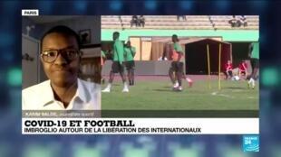 2021-03-19 17:05 Covid-19 et football : imbroglio autour de la libération des internationaux