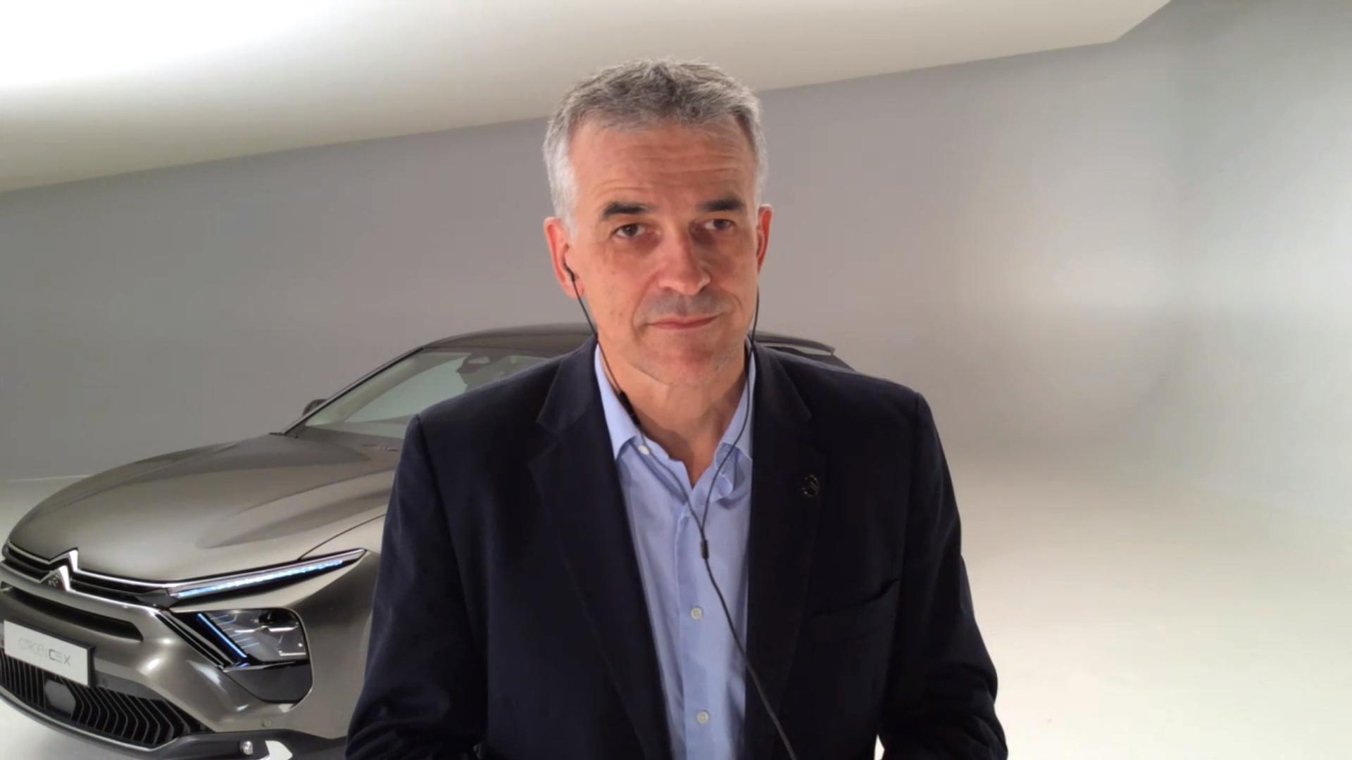 Vincent Cobée, CEO, Citroën