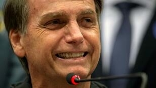 Jair Bolsonaro won 46 percent of votes in the first round of Brazil's presidential election