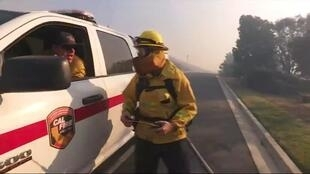 2019-11-01 09:10 Wealthy California residents have had their houses protected by private firefighters