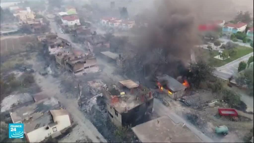حرائق غابات في جنوب تركيا تسفر عن مقتل أربعة أشخاص