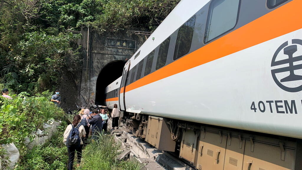 Dozens feared dead after train derails in Taiwan; rescue efforts continue thumbnail