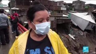 2020-06-01 14:22 Tropical storm Amanda hits El Salvador, Guatemala leaving death and destruction on its path
