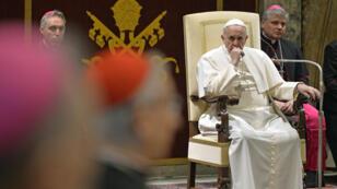 Le pape François a fustigé l'attitude de la Curie romaine lors de son discours du 22 décembre.