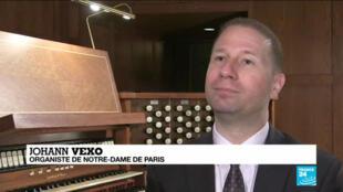 Johann Vexo était l'organiste principal de Notre-dame avant l'incendie