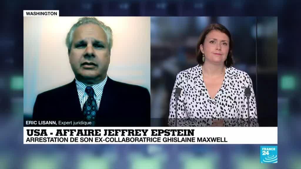 2020-07-02 22:06 USA - Affaire Jeffrey Epstein : arrestation de son ex-collaboratrice Ghislaine Maxwell