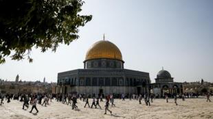 باحة المسجد الاقصى