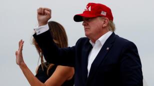 El presidente estadounidense, Donald Trump, suspendió la imposición de aranceles a las importaciones mexicanas el 7 de junio de 2019.