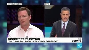 2019-10-29 19:24 Seb Dance MEP: Campaigning for a UK general election in December is 'far from ideal'