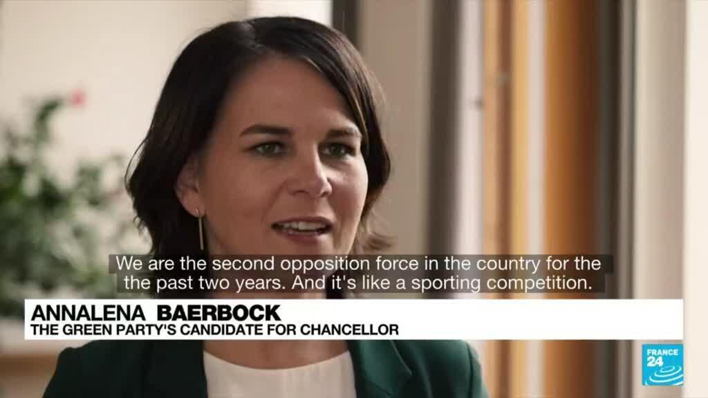 2021-09-21 08:22 Annalena Baerbock: Green party candidate wants to radically change Germany