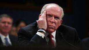 L'ex-chef de la CIA John Brennan a été interrogé par la commission du Renseignement de la Chambre des représentants, mardi 23 mai 2017.