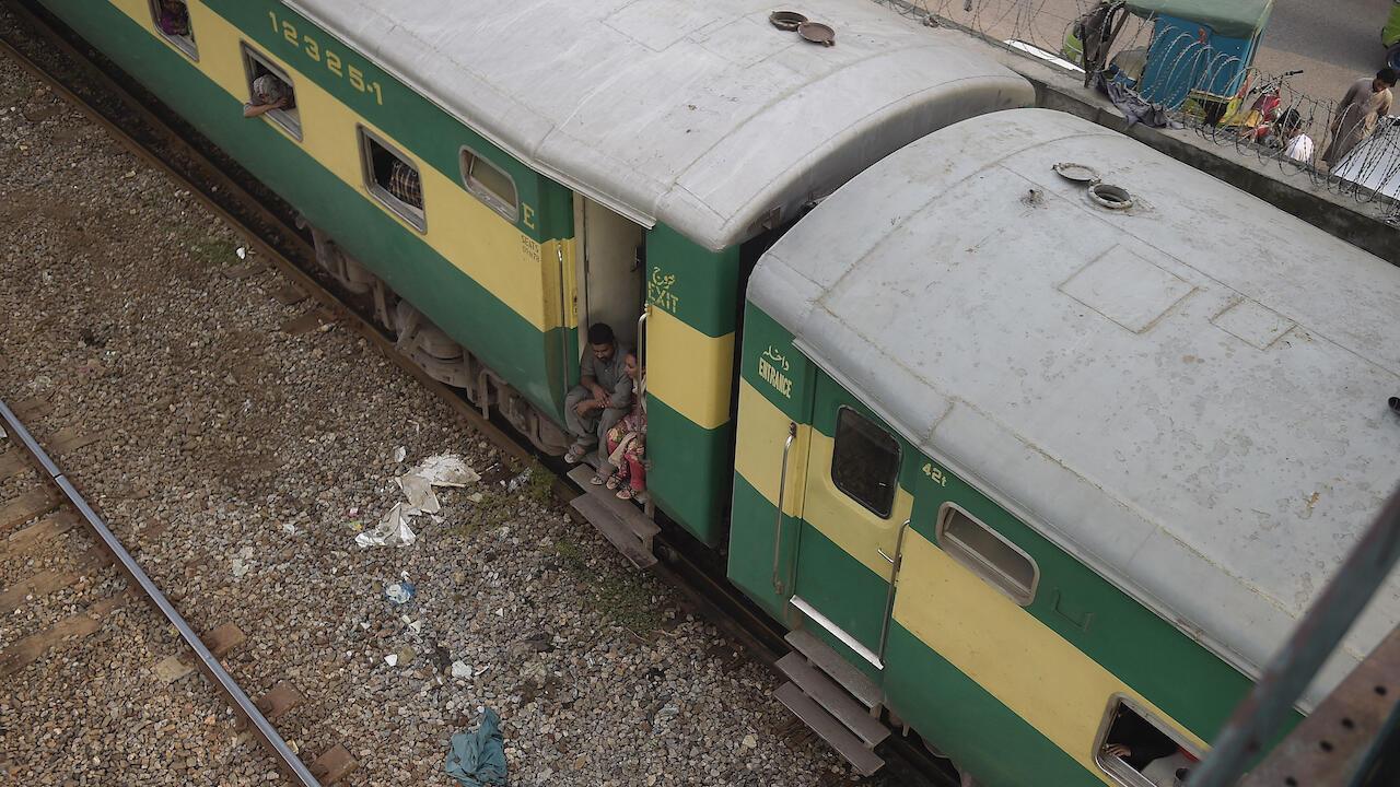 Pakistan Lahore train file