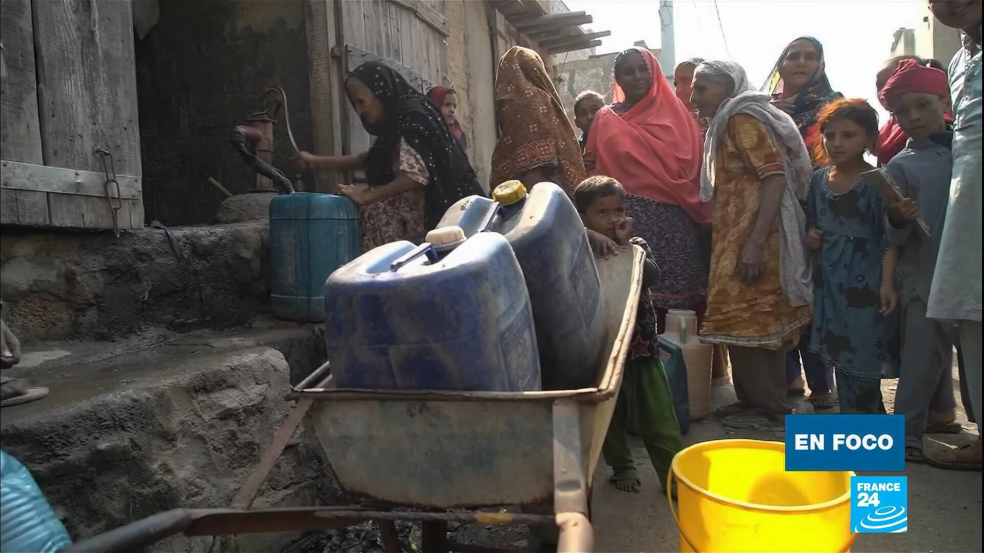 en foco - Karachi mafia del agua