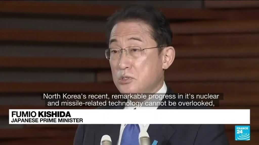 2021-10-19 14:07 North Korea fires ballistic missile into sea in latest test