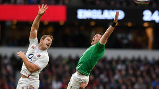 England take on Ireland in the 2020 Six Nations