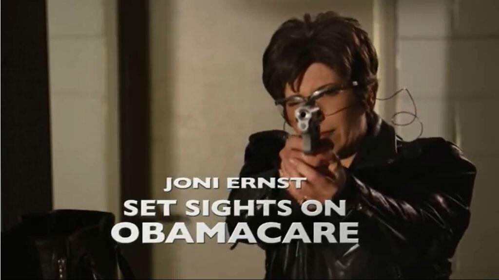 """""""Joni Ernst s'en prend à l'Obamacare"""""""