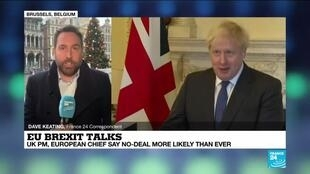 2020-12-11 15:01 Brexit hopes dim as Johnson says failure 'very likely'