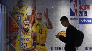The NBA has a huge following in China