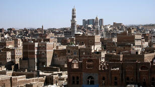 Vue générale de Sanaa, capitale du Yémen
