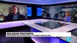 2020-08-24 12:06 Analysis: Lukashenko defiant as Belarusian protests grow