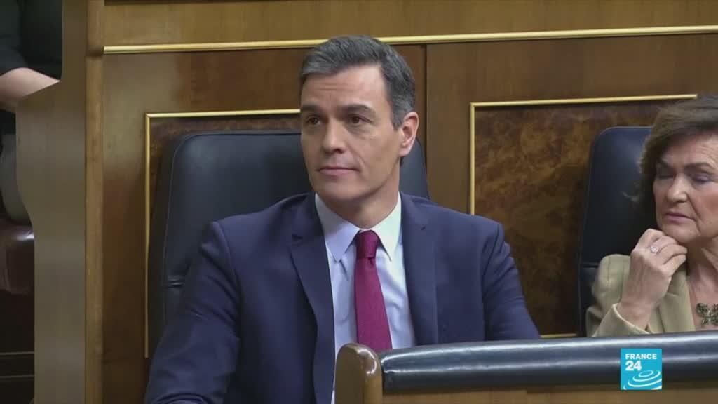 2020-01-07 19:06 Spain's Sanchez wins parliamentary approval paving way for coalition govt