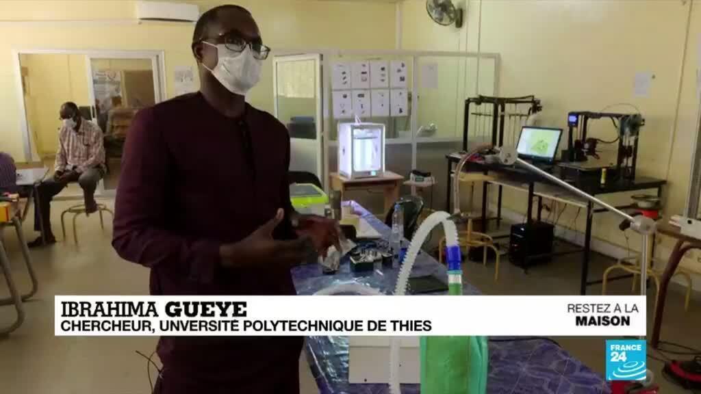 2020-04-16 09:06 Coronavirus : Au Sénégal, des respirateurs artificiels créés avec une imprimantes 3D