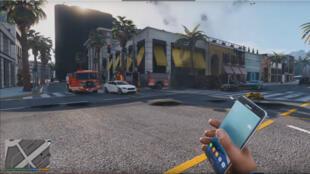 """Samsung fait retirer la vidéo présentant le mod où les charges explosives de """"GTA 5"""" sont remplacées par des Note 7."""