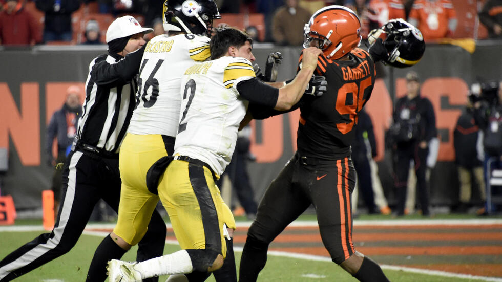 Steelers Rudolph Received 50 000 Fine For Role In Brawl