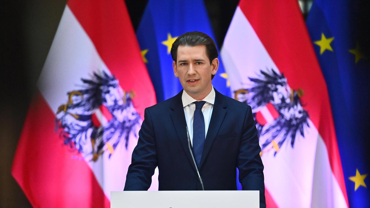 Image Facing probe, Austria's Kurz sees his image dented