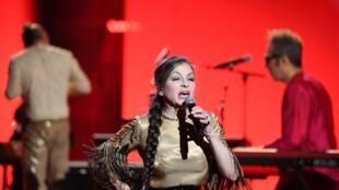 Catherine Ringer, le 14 février 20202 à la Seine Musicale, à Boulogne-Billancourt, près de Paris