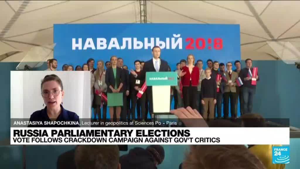 2021-09-17 13:33 Russia parliamentary elections: Polls open as pro-Putin party seeks new majority