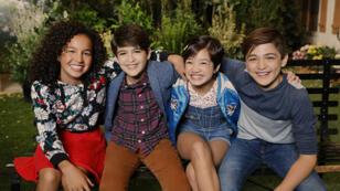 """Les héros de la série """"Andi Mack"""" sur Disney Channel, 2017."""
